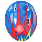 Шлем защитный детский OT-H6, размер S (52-54 см), цвет синий - фото 106523832