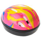 Шлем защитный детский OT-H6, размер S (52-54 см), цвет: розовый