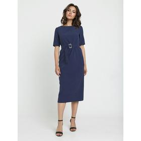 Платье, размер 44, цвет тёмно-синий, белый Ош