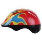 Шлем защитный детский OT-H6, размер M (55-58 см), цвет красный - фото 106523840