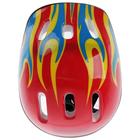 Шлем защитный детский OT-H6, размер M (55-58 см), цвет красный - фото 106523841