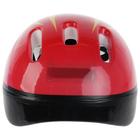 Шлем защитный детский OT-H6, размер M (55-58 см), цвет красный - фото 106523842