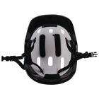 Шлем защитный детский OT-H6, размер M (55-58 см), цвет красный - фото 106523843