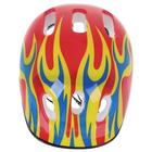 Шлем защитный детский OT-H6, размер M (55-58 см), цвет красный - фото 106523844