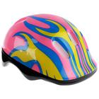 Шлем защитный детский OT-H6, размер M (55-58 см), цвет: розовый