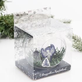 Christmas ball angel, 10 x 10 cm