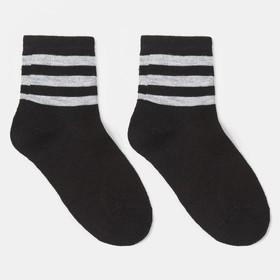 Носки детские, цвет чёрный, р-р 14-16
