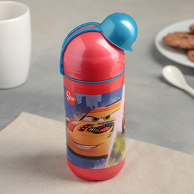 "Бутылка пластиковая 400 мл ""Тачки. Грани гонок"""