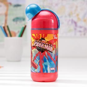 """Бутылка пластиковая 400 мл """"Человек-паук. Красная паутина"""""""