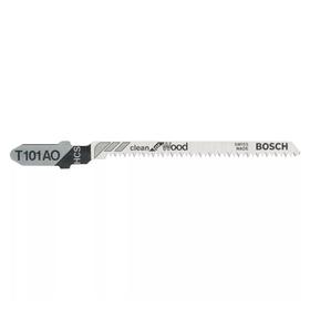 Пилки для лобзика Bosch 2608630031, 5 шт., по дереву, 56/83 мм, шаг 1.4 мм, чистый рез Ош