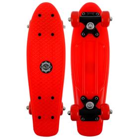 Скейтборд M-250, размер 42x12 см, колеса PVC d= 50 мм, цвет микс Ош