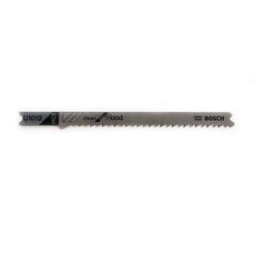 Пилки для лобзика Bosch 2609256759, 2 шт., по дереву, 82/100 мм, шаг 2.5 мм, чистый рез Ош