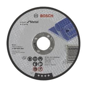 Круг отрезной Bosch Expert 2608600394, по металлу, 125х2.5 мм, прямой Ош