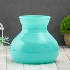 "Vase ""Dana"" azure d-10cm 15*15*16 cm"