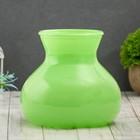 """Vase """"Given"""" green d-10cm 15*15*16 cm"""