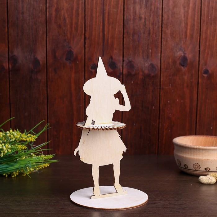 Салфетница «Ведьма в шляпе», 22×11,5×0,3 см