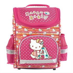 Ранец Стандарт Hello Kitty 32*25*13 дев, розовый