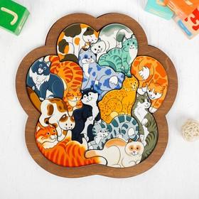 Зоопазл «Кошки» 14 деталей