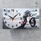 """Table clock """"Racer"""", 13х23 cm"""