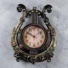 """Wall clock, series: Music, """"Harp"""", 28х37 cm"""