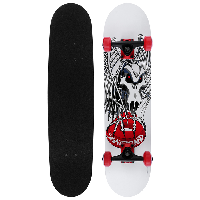 """Скейтборд """"Ястреб"""", колеса PU, d= 50 мм, ABEC 9, алюминиевая рама, канадский клен 9 слоев"""