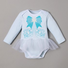 "Bodysuit Baby I ""Little maiden"", blue, R. 24, height 68-74"