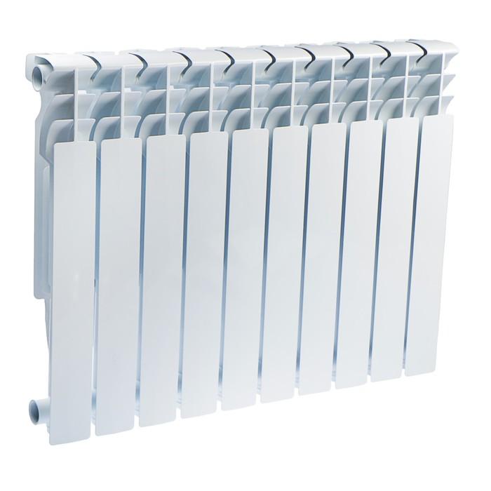 Радиатор алюминиевый Oasis, 500 х 96 мм, 10 секций