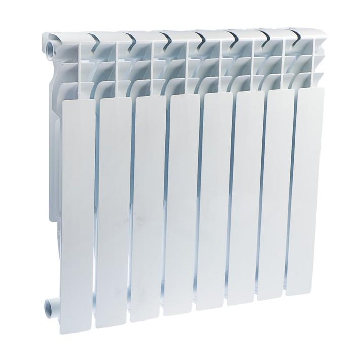 Радиатор алюминиевый Oasis, 500 х 96 мм, 8 секций