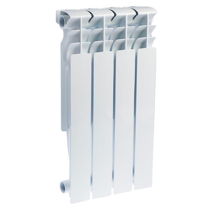 Радиатор алюминиевый Oasis, 500 х 96 мм, 4 секций
