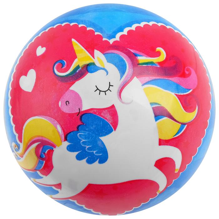 Мяч детский «Единорог», d=22 см, 60 г - фото 537898986