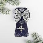 Подвеска на открытке «Рождество-время чудес»