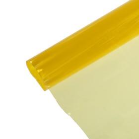 Пленка защитная для фар авто, желтая, рулон 30х50 см Ош