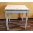 Стол для кафе, 700 × 600 × 800 мм, цвет сосна