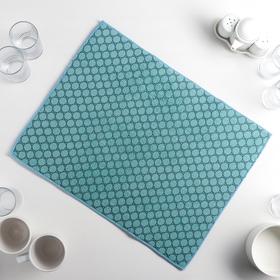 {{photo.Alt || photo.Description || 'Салфетка для сушки посуды Доляна «Дотт», 38×51 см, микрофибра, цвет бирюзовый'}}