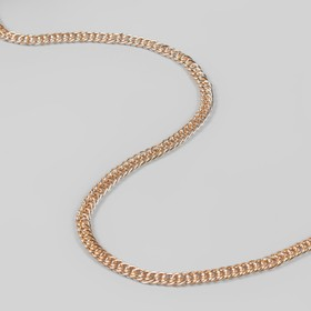 Chain iron twisted 7*9.9 mm 10±0.5 m gold AU