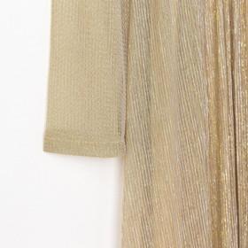 """Платье женское MINAKU """"Isabel"""", длинное, размер 48, цвет золото"""