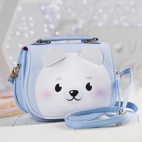 """Детская сумка """"Мишка"""", с ушками р-р. 16*12*6.5 см"""