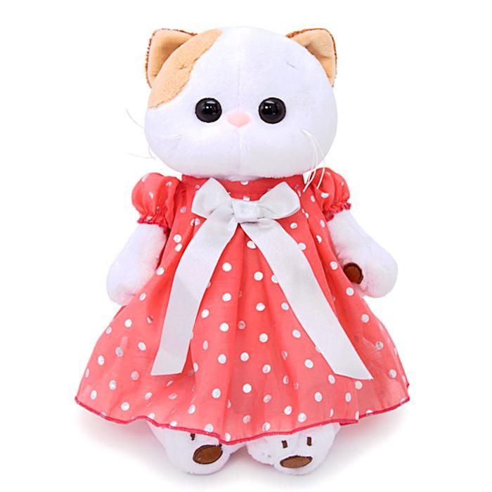 Мягкая игрушка «Ли-Ли в платье в горошек», 24 см - фото 4470174