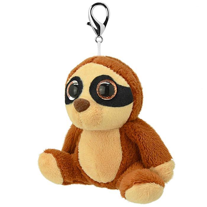 Мягкая игрушка «Брелок Ленивец», 8 см