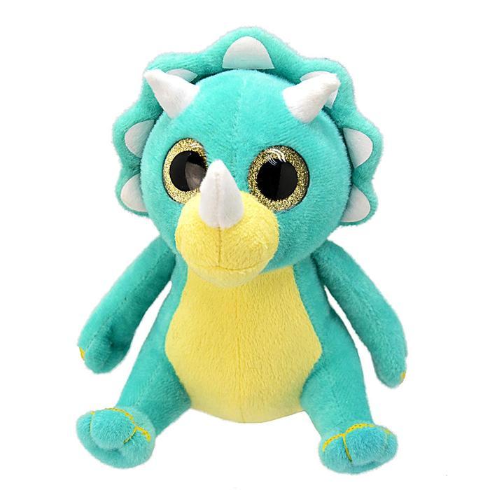Мягкая игрушка «Динозавр-трицераптор», 25 см