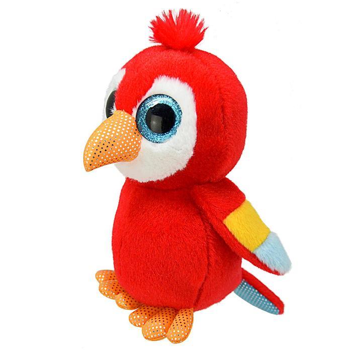 Мягкая игрушка «Попугай», 15 см