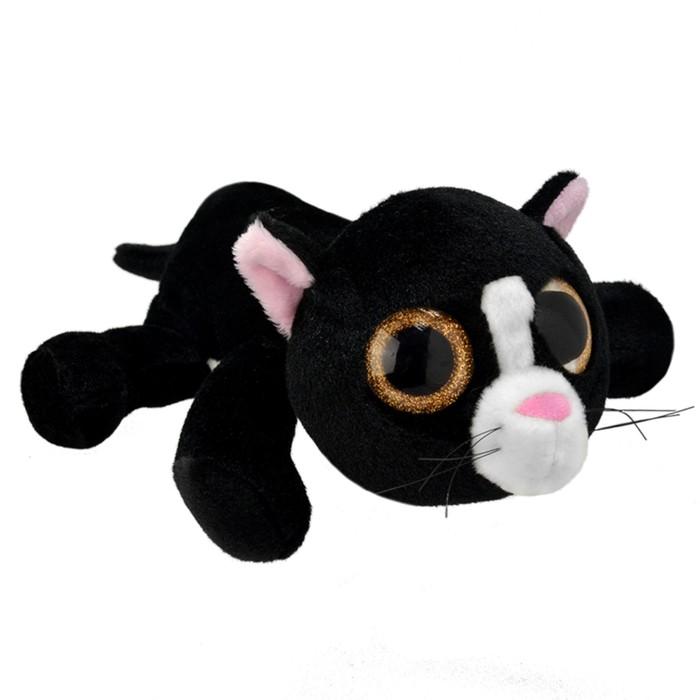 Мягкая игрушка «Чёрный кот», 25 см
