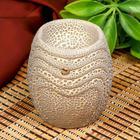"""Oil burner ceramic """"Texture"""" MIX 8x6,5x6,5 cm"""