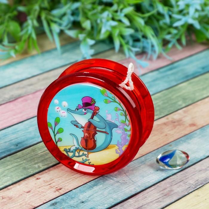 Йо-Йо «Морские жители», световой, цвета МИКС