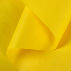 Paper, wrapping, Kraft bilateral,yellow, 0.5 x 10 m, 70 g