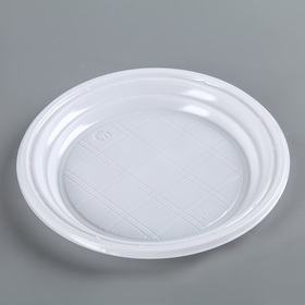 Тарелка десертная D=16.5 см, 3,2 г, цвет белый Ош
