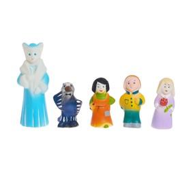 Набор резиновых игрушек «Снежная королева»