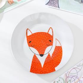 "Plate 20 cm ""Fox"""