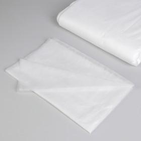 Простыня одноразовая, плотность 15 г/м2, SMS, 70 × 80 см, цвет белый