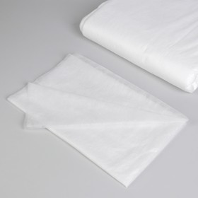 Простыня одноразовая, плотность 15 г/м2, SMS, 80 × 200 см, цвет белый